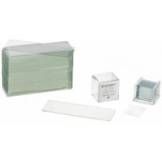 BRESSER Blank slides/Cover plates (50/100 pcs.)