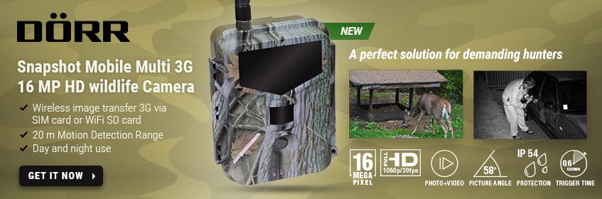 Dörr Snapshot Mobile Multi 3G 16 MP HD wildelife camera