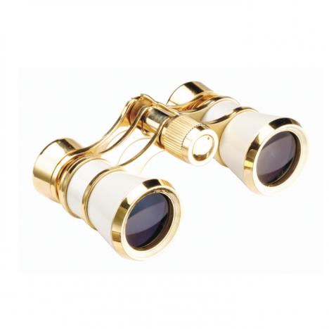 Helios 3x25 pearl/gold opera glass