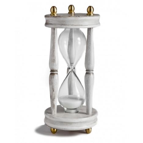 Zoffoli Tre-Esse 002-1/W, classic tabletop hourglass (15 min)