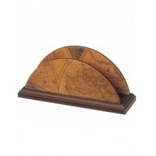 Desk letters-holder made of wood