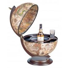 """Zoffoli """"Sfera 42"""" - Ivory bar globe"""
