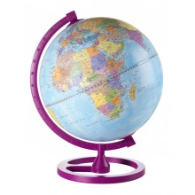 "Educational desk globe ""Colour Circle""- Cherry"