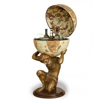"Statue bar globe ""Atlas""- Safari"