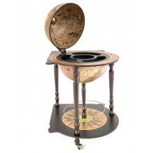 "Corner bar globe ""Caravaggio""- Rust"