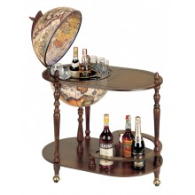 "Trolley bar globe with serving tray ""Vivalto"""