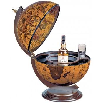 """Zoffoli """"Sfera 42"""" - Ebony bar globe"""