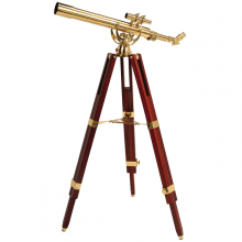 Decorative telescope Fine Brass 60/700
