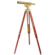 Decorative telescope Fine Brass 2060