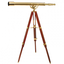 Decorative telescope Fine Brass 6040