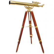 Decorative telescope Fine Brass 80/900
