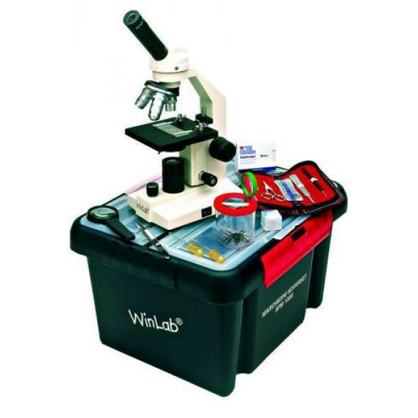 Windaus HPM 1000 microscope with case