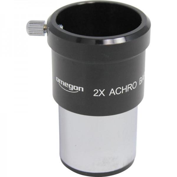 "Omegon 1.25"" achromatic 2x Barlow lens"