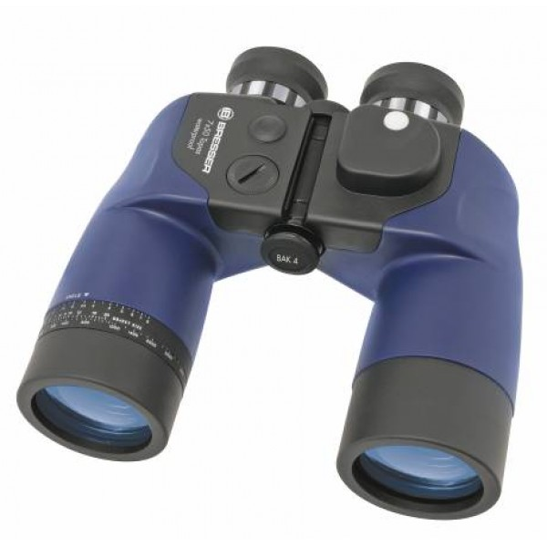 Bresser Topas 7x50 WP binoculars with compass