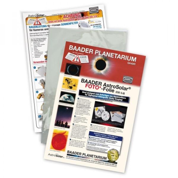 Baader Planetarium AstroSolar Photo Film 3.8, 100x50cm sun filter for astrophotography