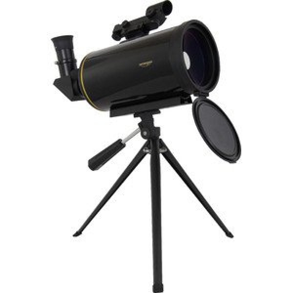 Omegon MightyMak 90 Maksutov telescope with LED finder