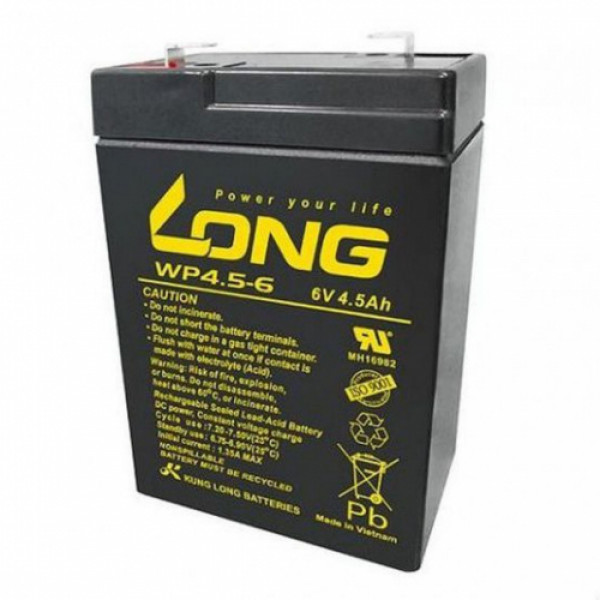 LONG 6V 4.5Ah Battery