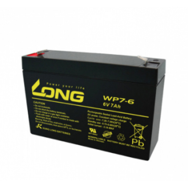 LONG 6V 7Ah Battery