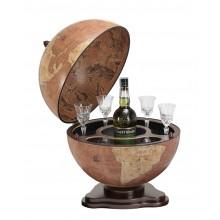"""Zoffoli """"Galileo"""" - Rust globe bar"""